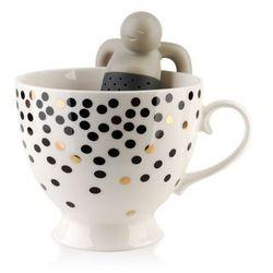 Kubek zaparzacz sitko ludzik do parzenia herbaty marki Mondex