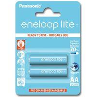 2 x Panasonic Eneloop Lite R6/AA 950mAh BK-4LCCE/2BE (blister) - produkt z kategorii- Akumulatorki