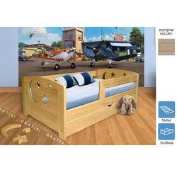 łóżko dziecięce gwiazdeczki z szufladą 80 x 200 marki Frankhauer