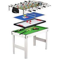 Dystrybutor maxima (kl) Zestaw gier 4w1 bilard tenis piłkarzyki cymbergaj