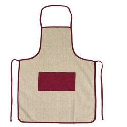 Jahu Fartuch płócienny bordowy, 60 x 80 cm - sprawdź w wybranym sklepie