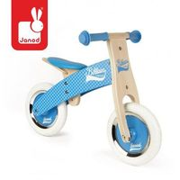 Rowerek biegowy niebieski little bikloon 2+,  marki Janod