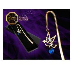 Zakładka do książki Gołąb - products with Swarovski Crystals z kategorii Zakładki do książek
