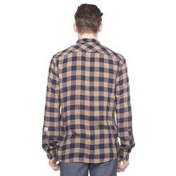 Tom Tailor Koszula Niebieski Brązowy M - produkt z kategorii- Pozostała moda i styl
