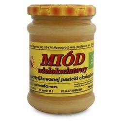 Miody Sznurowski: miód wielokwiatowy BIO - 380 g z kategorii Miody