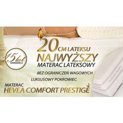 MATERAC LATEKSOWY HEVEA COMFORT PRESTIGE 200x180 + 2 Poduszki Visco Gratis!!