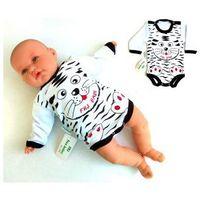 Body niemowlęce tygrysek długi rękaw rozmiar 74 marki Free juniors