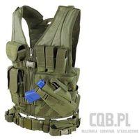 Condor Kamizelka taktyczna  cross draw vest zielona cv-001