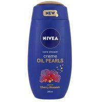 Nivea  creme oil pearls shower gel cherry blossom 250ml w żel pod prysznic