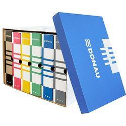 Pudło archiwizacyjne , karton, zbiorcze, górne, niebieskie marki Donau