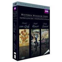 Best film Historia wielkich dzieł box 3dvd seria 2 - impresjonizm i postimpresjonizm (5906619090898)