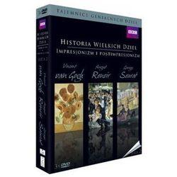 Historia wielkich dzieł box 3dvd seria 2 - impresjonizm i postimpresjonizm - produkt z kategorii- Filmy dokum