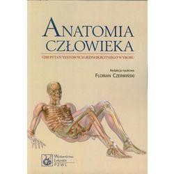 Anatomia człowieka 1200 pytań testowych jednokrotnego wyboru.