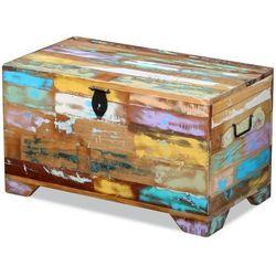 skrzynia z drewna odzyskanego marki Vidaxl