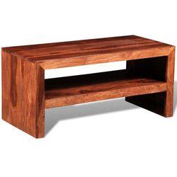 vidaXL Półka pod TV szafka z drewna sheesham - produkt dostępny w VidaXL