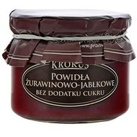 KROKUS 310g Żurawinowo-Jabłkowe Powidła bez dodatku cukru