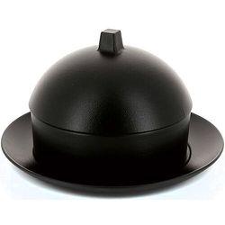 Naczynie porcelanowe do dim sum z pokrywką equinoxe czarne żeliwo (rv-649522-1) marki Revol