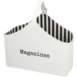 Dekoria Gazetnik Magazines white wys.37cm, 48×21,5×37cm