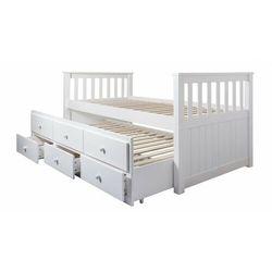 Łóżko drewniane 90x200 rozkładane model 1601 marki Meblemwm