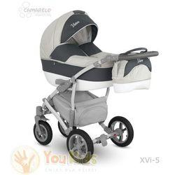 Camarelo Od youkids vision 3w1 wózek wielofunkcyjny gondola spacerówka fotelik xvi-5