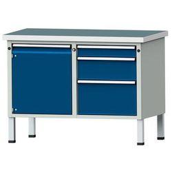 Anke werkbänke - anton kessel Kompaktowy stół warsztatowy, blat uniwersalny,szer. x głęb. 1140 x 650 mm,