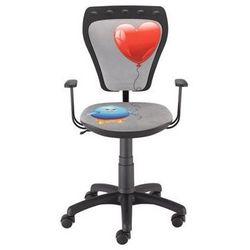 Nowy styl Krzesło dziecięce ministyle kurczak z sercem
