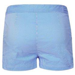 Robinson Les Bains OXFORD Szorty kąpielowe seersucker blue, materiał bawełna||poliester, niebieski