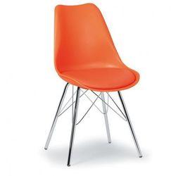 Krzesło konferencyjne christine, pomarańczowe marki B2b partner