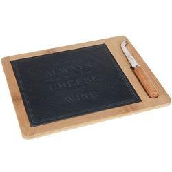 Deska do serów i przekąsek + nóż (8711295729072)