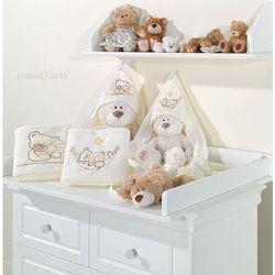 kocyk polarowy śpioch w hamaku ecru marki Mamo-tato