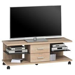 Stolik pod telewizor wild 131 cm, sonoma dąb, szuflady 7702552 marki Maja-möbel