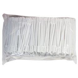 Mieszadełko plastikowe kolor biały - długość 16 cm / 1000 szt.