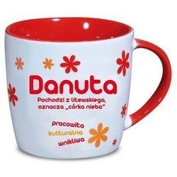 Nekupto, Danuta, kubek ceramiczny imienny, 330 ml
