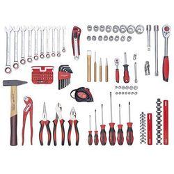 Zestaw narzędzi, BASIC PLUS, zestaw, 109-częściowy. Bogate wyposażenie o wysoki