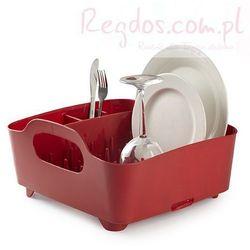 Suszarka do naczyń Tub czerwona - produkt z kategorii- Suszarki do naczyń