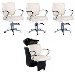 Vanity Zestaw fryzjerski livio ecru, kategoria: meble fryzjerskie