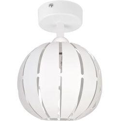 Globus prosty 1 plafon S biały 31310 SIGMA