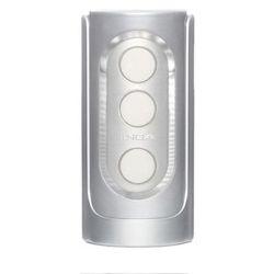 Elektroniczny masturbator Tenga Flip Hole - Srebrny (masturbator)