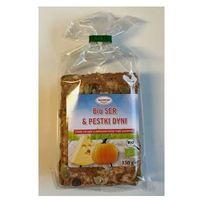 Chleb chrupki BIO ser i pestki dyni pełnoziarnisty 150g Benus