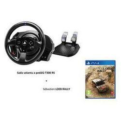 Kierownica  t300 rs rally pack + pedały + gra sébastien loeb rally na ps4 (4160693) czarny wyprodukowany prz