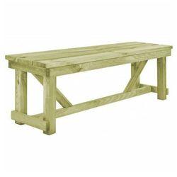 Drewniana ławka ogrodowa Beten - zielona, vidaxl_44899