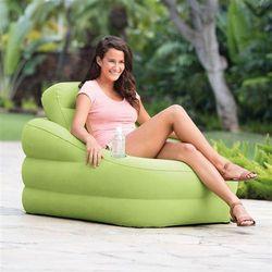 Fotel dmuchany ze zdejmowanym oparciem 97 x 107 x 71 cm INTEX 68586