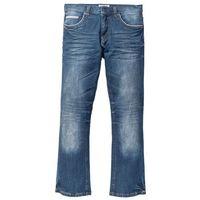 Dżinsy ze stretchem Regular Fit Bootcut bonprix niebieski, kolor niebieski