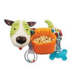 Zabawka sensoryczna do wózka i pojemnik na przekąski Piesek 2w1, Skip Hop z kategorii Pozostałe dla dzieci