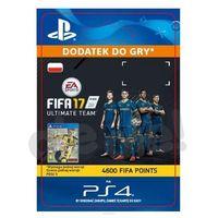 Sony Fifa 17 4600 punktów [kod aktywacyjny], kategoria: pozostałe gry i konsole