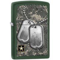 Zapalniczka ZIPPO US Army- Dog Tags, Green Matte (Z28513)