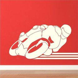 Szablon na ścianę wyścigi motocyklowe 2330 marki Wally - piękno dekoracji