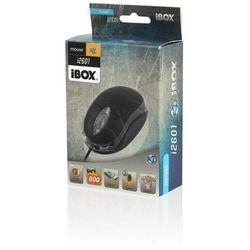 Mysz I-Box I2601 Optyczna Przewodowa, Usb Black, towar z kategorii: Myszy, trackballe i wskaźniki