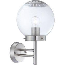 Kinkiet lampa oprawa ścienna zewnętrzna Globo Bowle II 1x60W E27 chrom/przezroczysty 3180 (9007371110797)