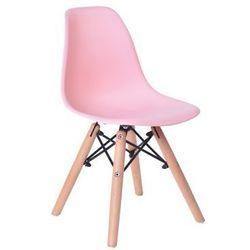 """Krzesło dziecięce """"PARIS KIDS"""" - różowy"""